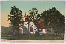 USA Postkarte Ansichtskarte AK - Presbyterian Church Cochecton NY 1908 (A2307