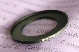 46mm to 67mm Male-Female Stepping Step Up Filter Ring Adapter 46mm to 67mm
