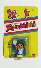 1981 Monchhichi Toy ACE Vintage Action Figure Tennis Player New Sealed USA