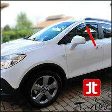 Deflettori Aria Anteriori Antiturbo Oscurati Opel Mokka e Mokka X Chevrolet Trax