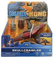 Playmates Masterverse Godzilla vs Kong Skullcrawler with Heav Battle Damage