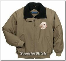 Clumber Spaniel embroidered challenger jacket Any Color
