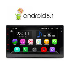 """Double 2 DIN HD 7"""" Touch Screen Android 5.1 Car Player GPS Sat Nav Stereo Radio"""