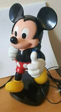 VINTAGE MICKEY MOUSE BACKPACK TELEPHONE by TYCO - GOOD WORKING ORDER
