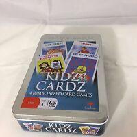 Classic Games Kidz Cardz 4 Card Games Bible Trivia Go Fish Noah's Ark Crazy8