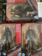 DC Multiverse Zoom, The Flash, Hawkman - Mattle - NO KING SHARK BAF PIECES -