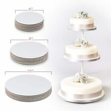 Culpitt Cake Boards card Cut Edge base 1.8mm Base wedding decoration ALL SIZES