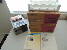 New listing Sony Betamax Sl-2001 and Tt-2000 Set With Boxes & Manuals Nice