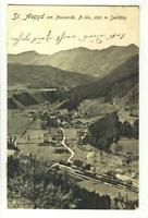 AK St. Aegyd am Neuwalde, Panorama, 1906