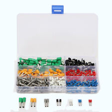600Pcs Insulated Cord End Terminal Boots Lace Cooper Aderendhülsen Set Kit Wire