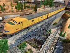 HO Scale Lot of 4 PROTO 2000 E6 A/B/B/A DC Powered UP Union Pacific Diesel NICE!