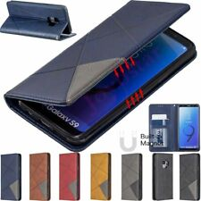 Magnetic Leather Wallet Flip Case Cover For Samsung A10 A30 A50 S10 J4 J6 Plus