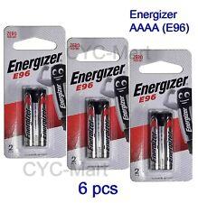 Energizer AAAA E96 4A Alkaline Battery 1.5V  x 6pcs Free shipping