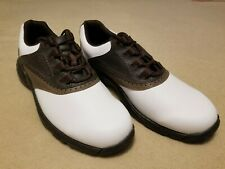 FootJoy Greenjoys Men's golf shoes with soft cleats, size 9
