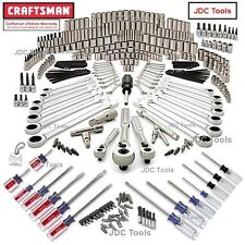 Craftsman 365 pc Mechanics Tool Set w Polished Ratchet Wrenches 334 311 ^*NEW*^
