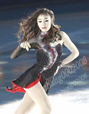 Stylish Ice skating dress.Blingbling Twirling Competition Figure Skating Dress