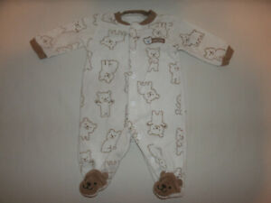 Newborn Beary Cute One-Piece Pajama Baby Outfit ~ Just One You