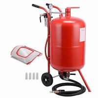 Sandblaster Sand Blaster 20 Gallon Portable Air Media Abrasive Blasting Tank New