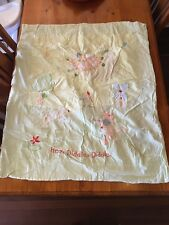 Cot Linen, unisex yellow, fitted sheet, flat sheet, pillow case, blanket, plus