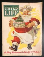 Child Life Dec 1946 Keith Ward Cover