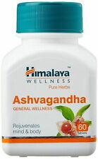 10 Himalaya Ashwagandha(Withania somnifera) Herbal 60 Tablets for body and mind