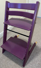 Stokke Tripp Trapp High Chair In Purple Plum - Baby & Child Adjustable