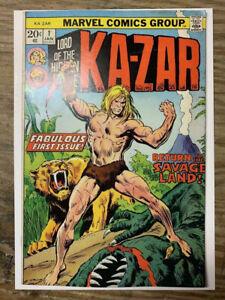 Ka-Zar Lord of the Hidden Jungle #1/Bronze Age Marvel Comic/FN+