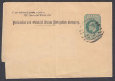 Peninsular and Oriental Steam Navigation Company KEVII 1/2d Newspaper Wrapper