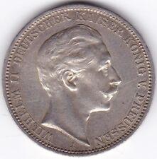 1911 un tedesco stati Prussia 3 marchi *** Da collezione ***