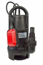 400W HEAVY DUTY SUBMERSIBLE CLEAN DIRTY WATER PUMP 7500 LPH AUTOMATIC FLOOD PUMP