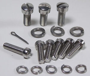 Stromberg 97 81 48 LZ Carburetor STAINLESS STEEL Screw Kit ss hardware fasteners