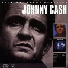 JOHNNY CASH - ORIGINAL ALBUM CLASSICS 3 CD 38 TRACKS COUNTRYNEW!
