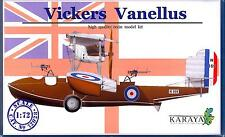 Karaya Models 1/72 VICKERS VANELLUS British Amphibious Flying Boat