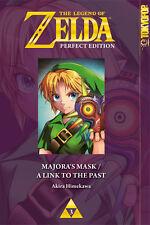 Zelda Perfect Edition: Majoras Mask / A Link to the Past - Deutsch - NEUWARE