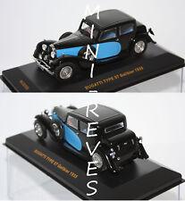 Ixo Bugatti Type 57 Galibier 1935 noir/bleu 1/43 MUS058