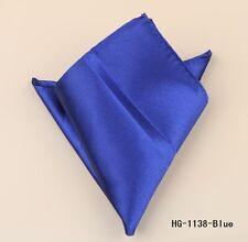 SUIT POCKET HANKERCHIEF BLUE (BRAND NEW) 23cm x 23cm
