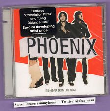 Phoenix It's Never Been Like That Music CD 2006 EMI Astralwerks ASW60911 Sealed