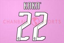 Kaka #22 2007-2008 AC Milan Homekit Nameset Printing