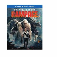 Rampage Blu-ray + DVD Dwayne Johnson