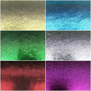 """Super Soft Poly Lamee Stretch Metallic Smooth Finish Fabric 60"""" Wide Full Metre"""