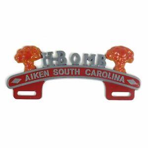 H-Bomb License Plate Topper - Aiken South Carolina