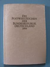 Bund - Jahrgang 1999  gestempelt / Marken, Bl., Komplett