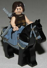 LEGO LOT OF DASTAN MINIFIGURE HORSE SADDLE AND WEAPONS