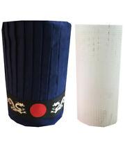 3pcs Custom Japanese hibachi grill chef tall hat set, hibachi chef hat set New
