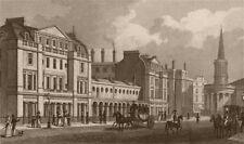 LANGHAM PLACE West side. 289-311 Regent Street. All Souls church. SHEPHERD 1828
