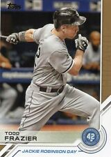 2017 Topps # JRD-8 TODD FRAZIER Jackie Robinson Day Insert Chicago White Sox