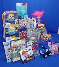 15 Pkg Action Figure Lot Minions Nemo Marvel Littlest Pet Shop Trolls Blaze More