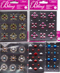 Jolee's ALL THAT BLING studs~Several Varieties~BEAUTIFUL!  BN~So useful!!