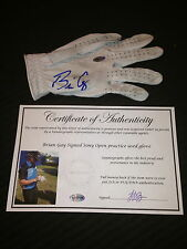 Brian Gay Game Used Signed Autographed Pga Footjoy Golf Glove-Coa-Exact Proof