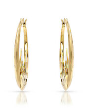DISNEY COUTURE Castle Hoop Earrings in Gold Plated  Base metal